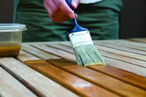 Wood is very popular, and so it affects architectural coating trends