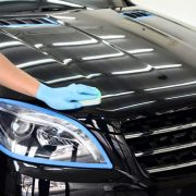 When applying ceramic coating on cars it is important to have a dust and contaminant free environment.