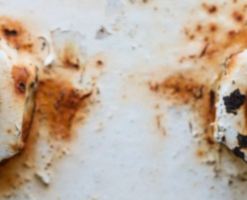 Anti-corrosion coating for steel will protect from deterioration