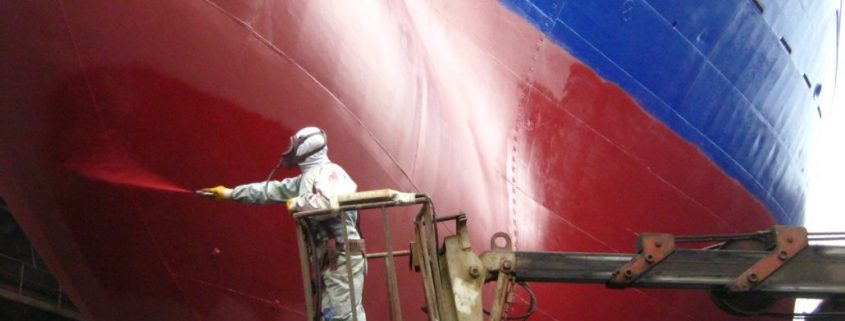 antifouling paint prevents biofouling