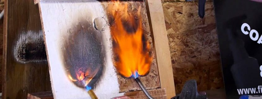 intumescent paint for wood