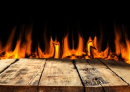intumescent paint for wood prevents burning