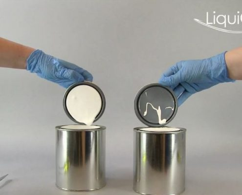 LiquiGlide nonstick coating prevents waste in packaging