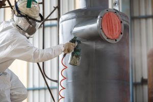 Anti corrosion coating for steel extends the life of your asset