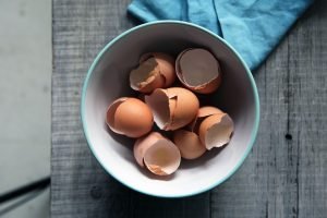 Egg whites contain an enzyme which is anti-microbial