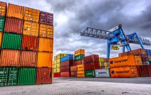 chemical resistant coating on cargo containers