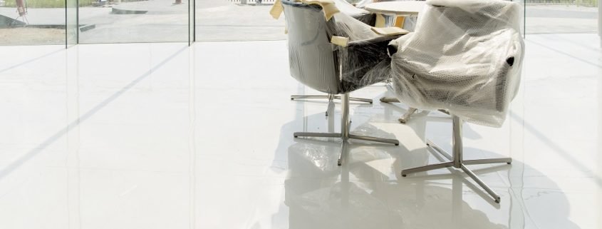 epoxy coating on office floor