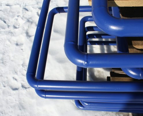 Fusion bonded epoxy coating is a popular choice for pipe coating.