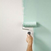 hygiene coatings being applied on a wall