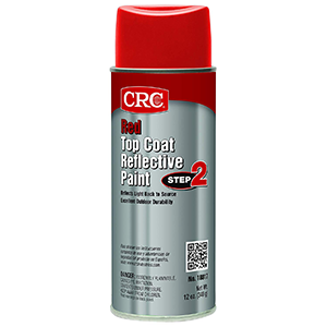 CRC 18017 Red Reflective Paint Top Coat