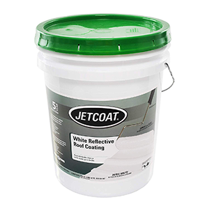 Jetcoat White Reflective Roof Coating White 5 Gallon
