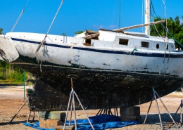 Protect your hull with antifouling paint and prevent biofouling and drag