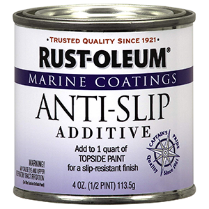 Rust-Oleum 207009 Marine Anti-Slip Additive 0.5 Pint Clear