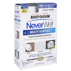 Rust-Oleum Never Wet Multi Purpose Kit, Bright White