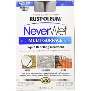 Rust-Oleum Never Wet Multi Purpose Kit, Frosted Clear