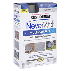 Rust-Oleum Never Wet Multi Purpose Kit, Silver Gray