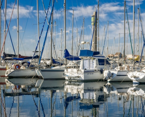 Remove antifouling paint from your boat by scraping, stripping, or blasting.