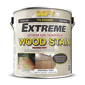 Defy Extreme Wood Stain Natural Pine 1 Gallon