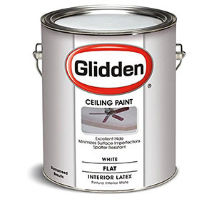 Glidden Latex Ceiling Paint Flat Interior 1 gal White