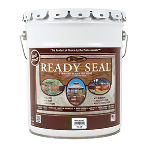 Ready Seal Stain and Sealer for wood Dark Walnut 5 Gallon