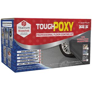 ToughPoxy Professional Floor Coating Kit Dark Gray Semi Gloss
