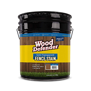 Wood Defender Fence Stain Coffee Brown semi-transparent 5 Gallons